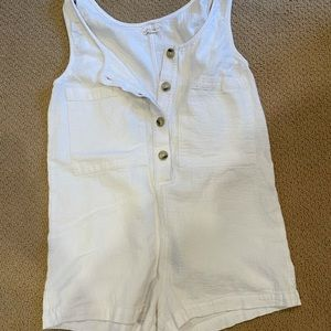Whimsy and row romper size medium! Great condition
